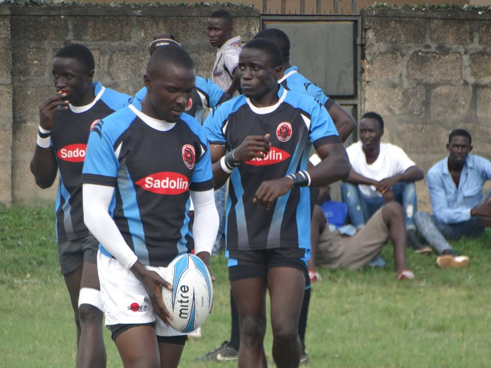 Mongers' veteran player Simon Wakabi had a field day at office with great kicking