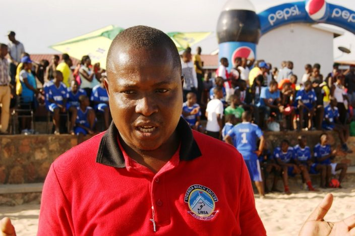 FUFA set to construct standard beach soccer stadium at Aero beach, Entebbe #Uganda deo mutabaazi 704x468