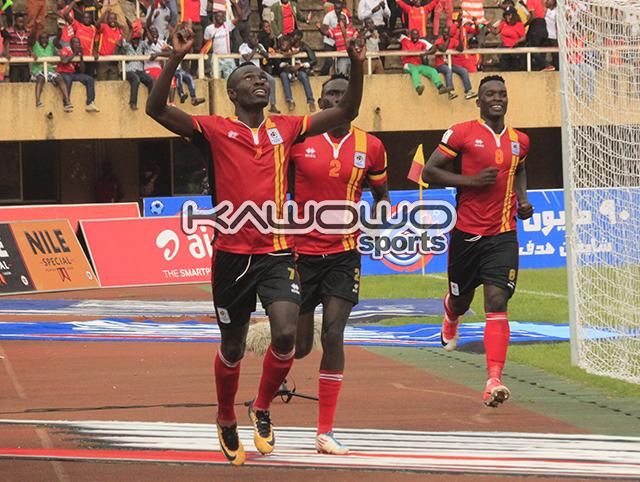 Uganda beat Egypt 1-0 in 2018 FIFA World Cup qualifier