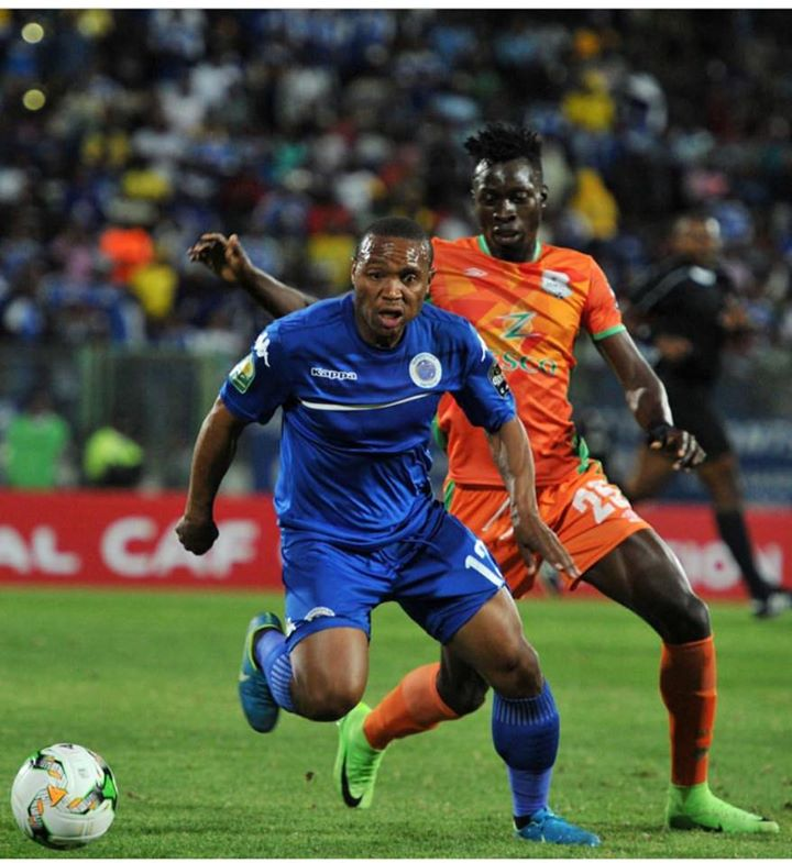 supersport united ejects zesco from caf confederation cup. Black Bedroom Furniture Sets. Home Design Ideas