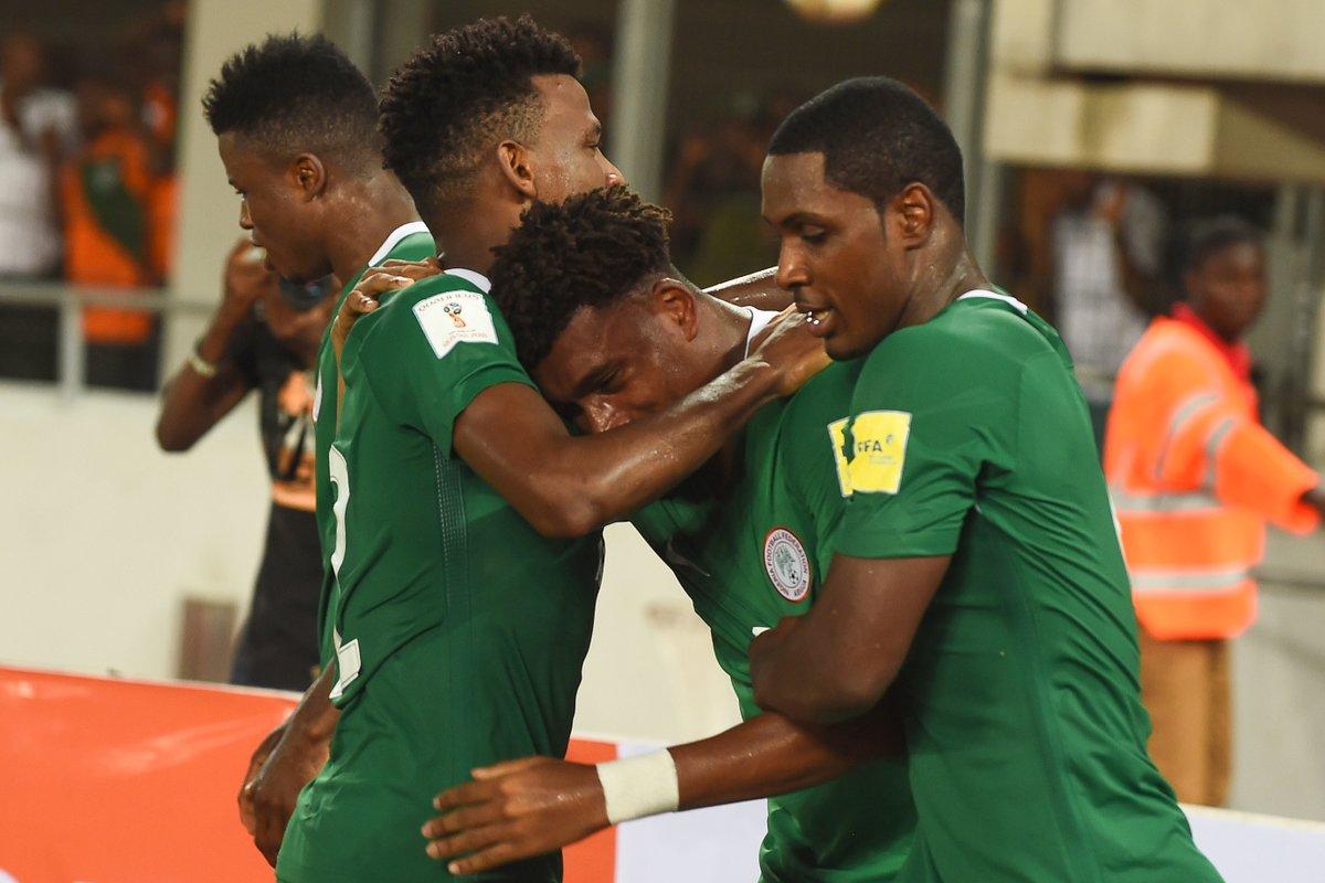 Iwobi's Strike Takes Nigeria To Russia 2018 World Cup