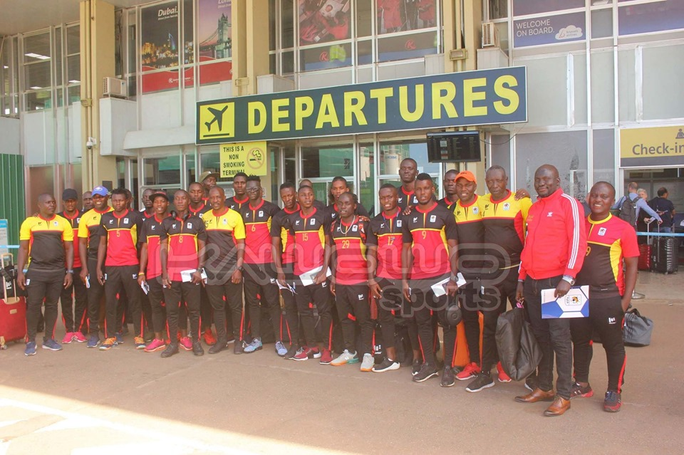 Uganda Cranes depart for 2019 COSAFA tournament with high