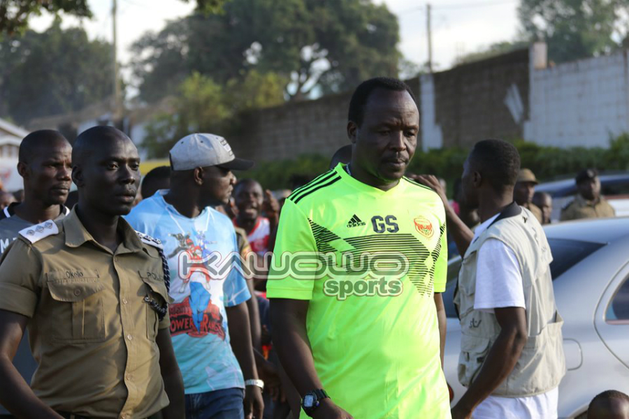 Why Ssimwogerere needs time at Express FC #Uganda jb george ssimwogerere express escorted