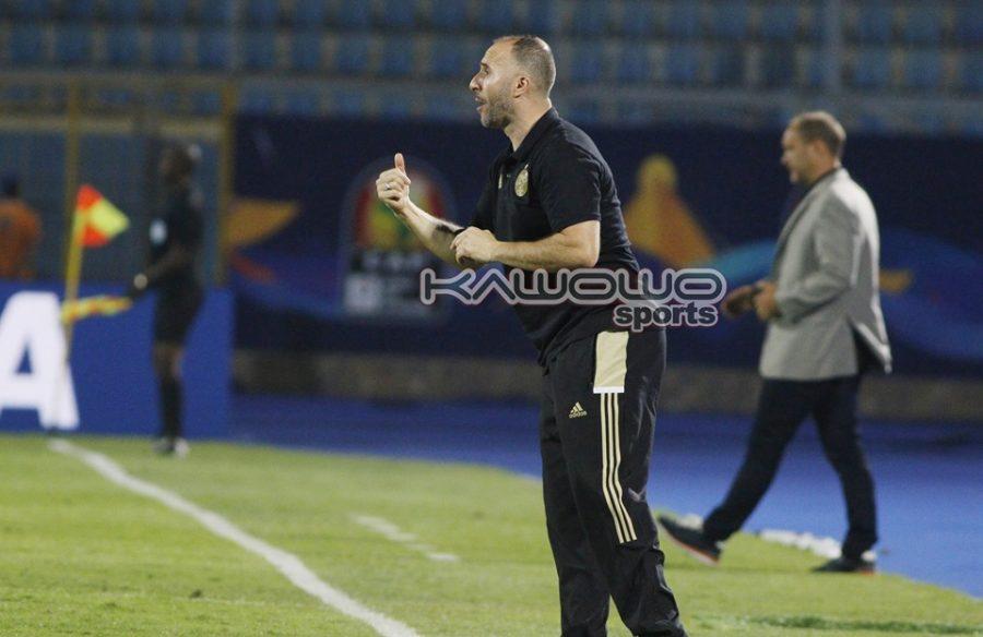 I am not a magician nor miracle worker, says Algerian coach #Uganda Djamel Mbolhi shouts instructions 900x584