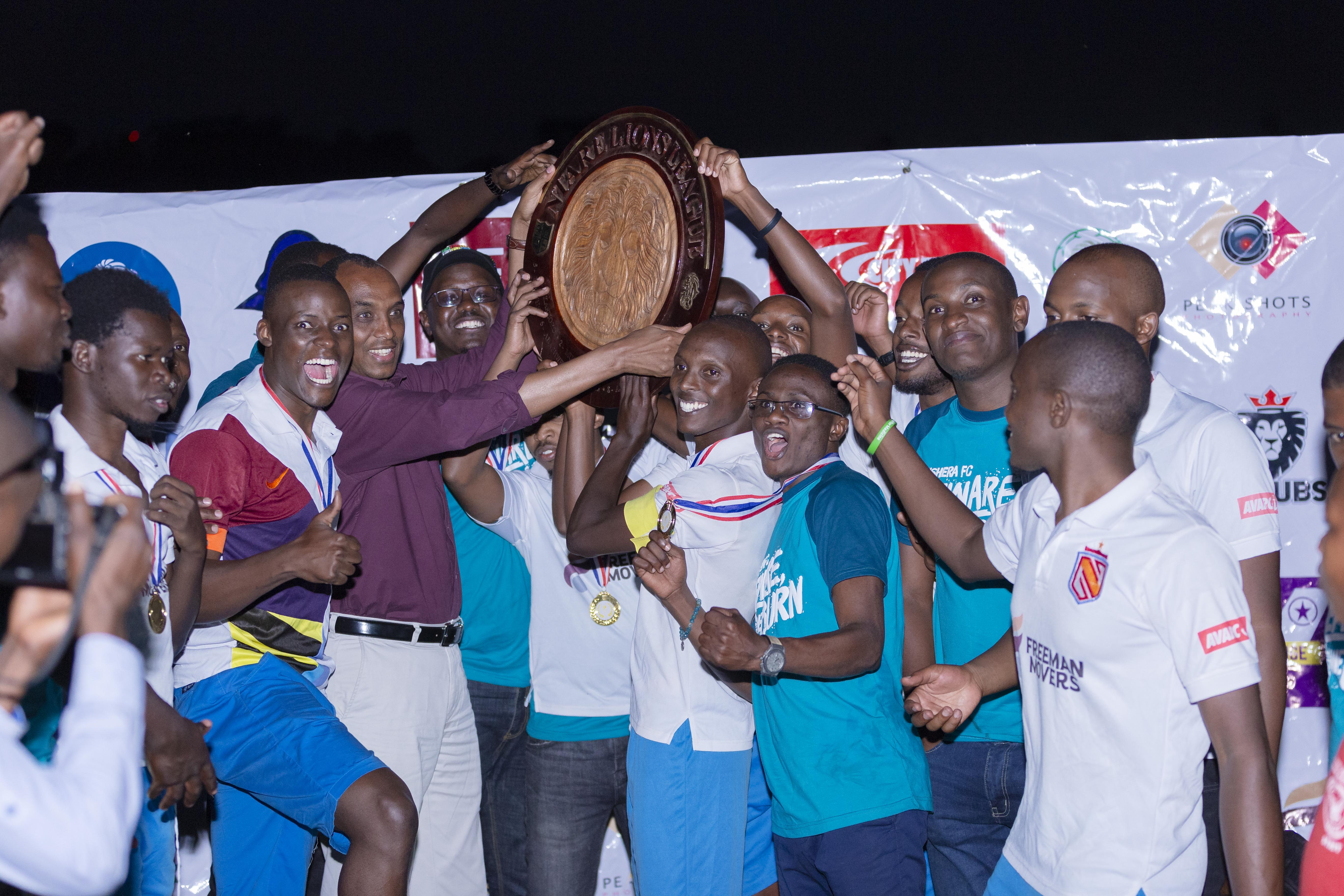 Third time lucky for Nshera FC as they win Season 10 of