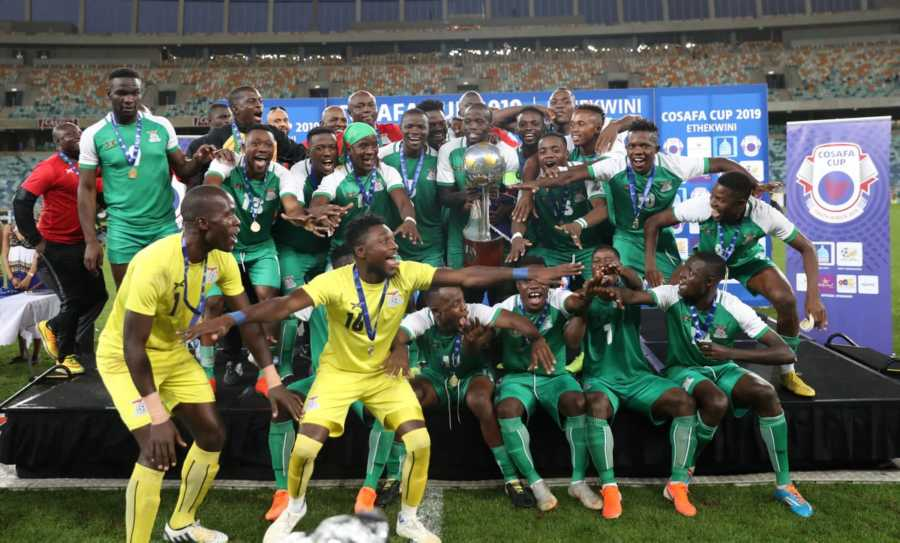 How Zambia won the 2019 COSAFA Championship #Uganda Zambia COSAFA champions 2019 900x543