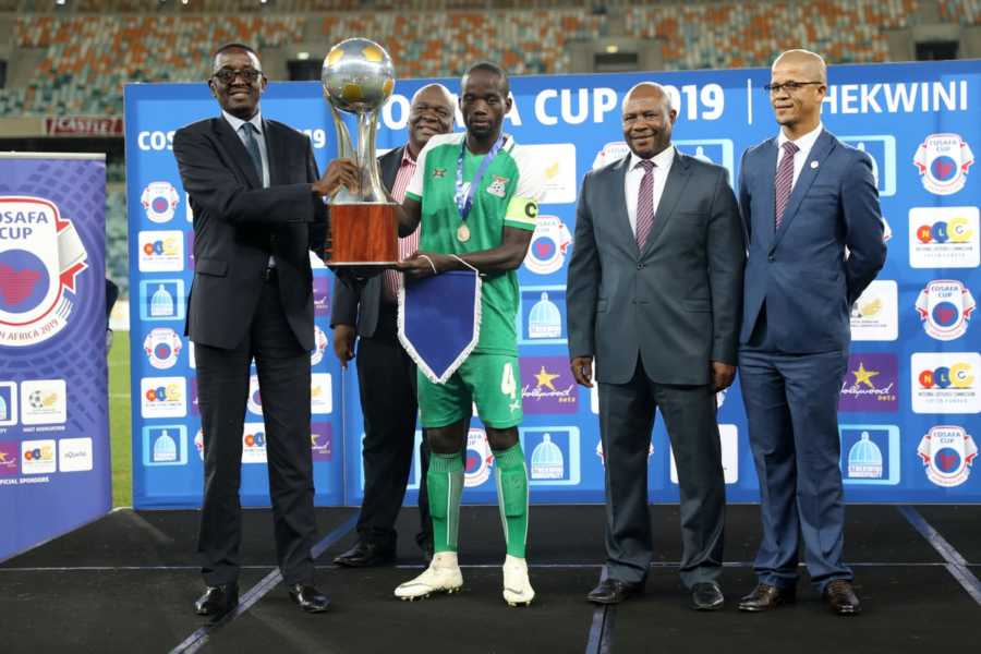 How Zambia won the 2019 COSAFA Championship #Uganda Zambia captain COSAFA 2019 900x600