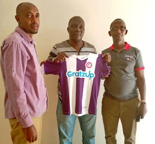 Midfielder Wangi follows Basena in Rwanda #Uganda Basena unvieled