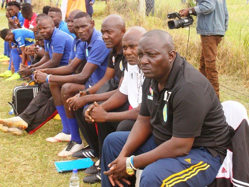 Anxiety looms at Bright Stars as head coach Kajoba's contract nears expiry #Uganda Bright Stars Technical bench 797x600