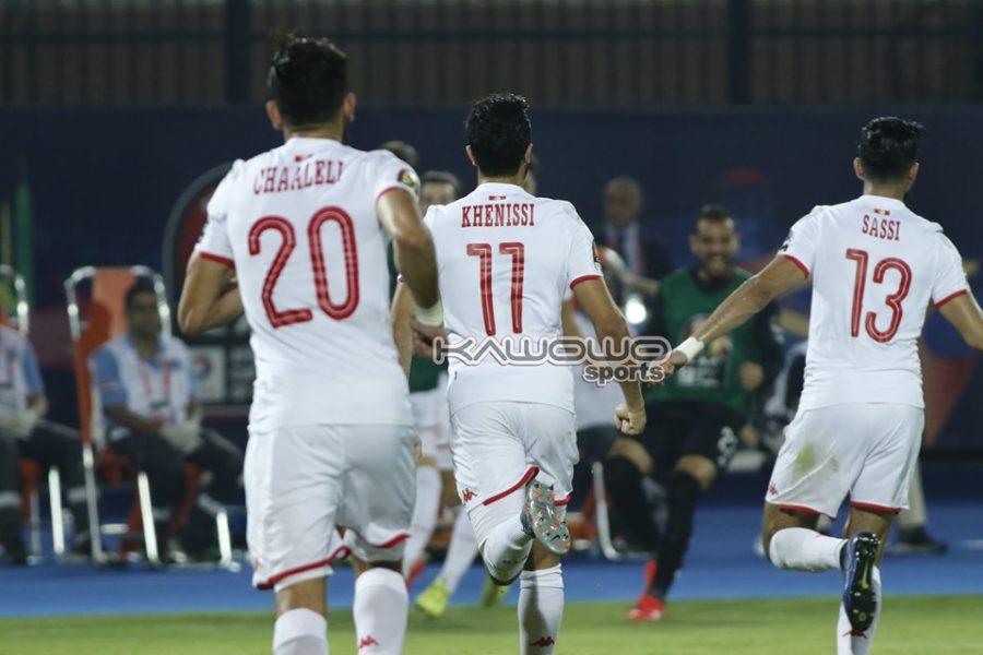 Tunisia shoot down Madagascar to qualify AFCON 2019 semi-final slot #Uganda Tunisia celebrations 1 900x600
