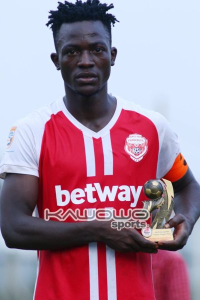 Express edge Mbarara City in five-goal thriller at Luzira #Uganda Dissan Galiwango man of the match 400x600