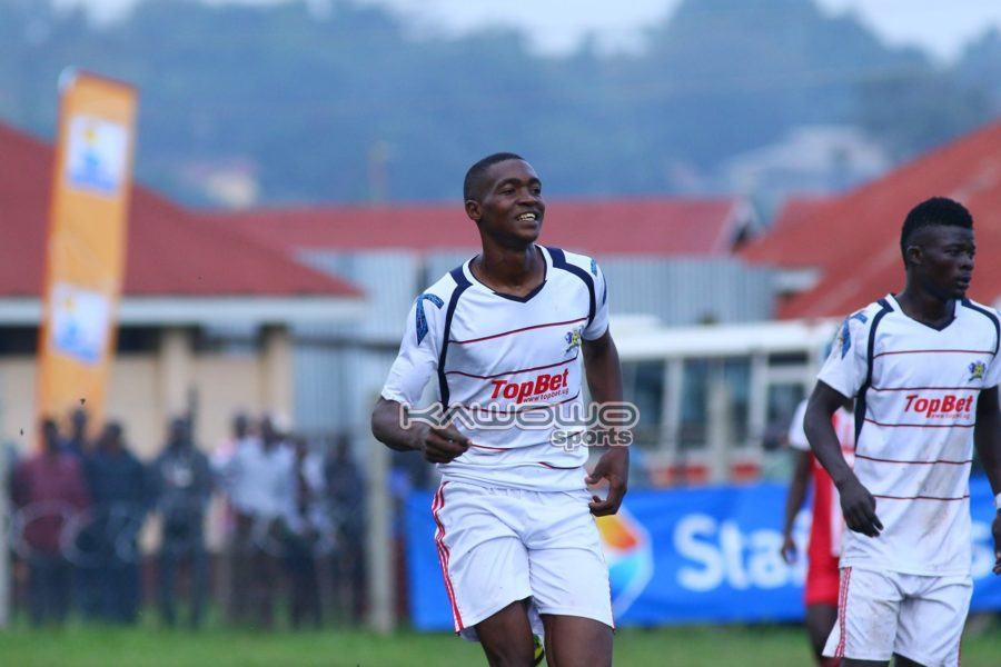 Express edge Mbarara City in five-goal thriller at Luzira #Uganda Jude Ssemugabi smiles 900x600