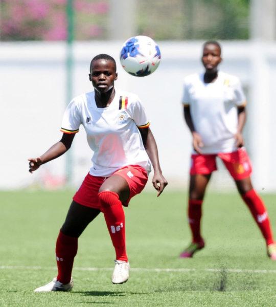 COSAFA U17 Women's Championship: Uganda, Zambia share spoils #Uganda fauzia najjemba cosafa media 540x600