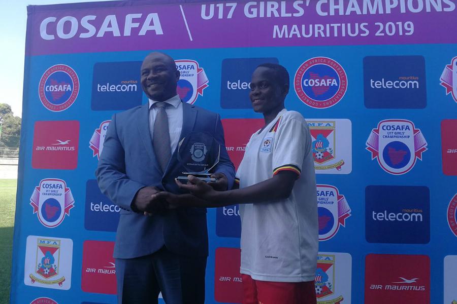 COSAFA U17 Women's Championship: Uganda, Zambia share spoils #Uganda fauzia najjemba mom vs zambia 1