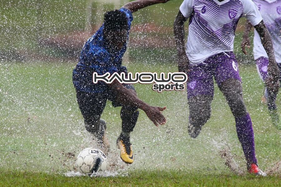 Wakiso Giants, Bright Stars in a stalemate on soggy Wankulukuku pitch #Uganda jb bright stars vs wakiso