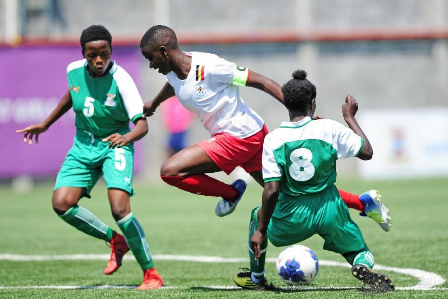 COSAFA U17 Women's Championship: Uganda, Zambia share spoils #Uganda juliet nalukenge uganda vs zambia cosafa