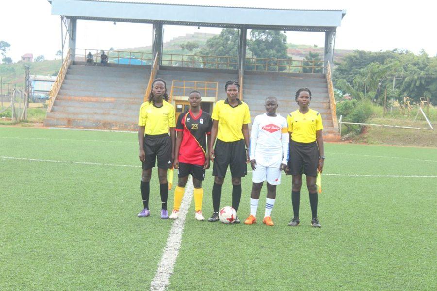 Uganda U17 Women's national team defeats Kampala Select in practice match #Uganda uganda 4 1 900x600