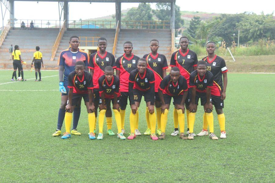 Uganda U17 Women's national team defeats Kampala Select in practice match #Uganda uganda 5 900x600