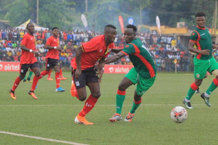 Ssozi humbled by Uganda Cranes display, eyes more national team caps #Uganda Yusuf Ssozi 900x600