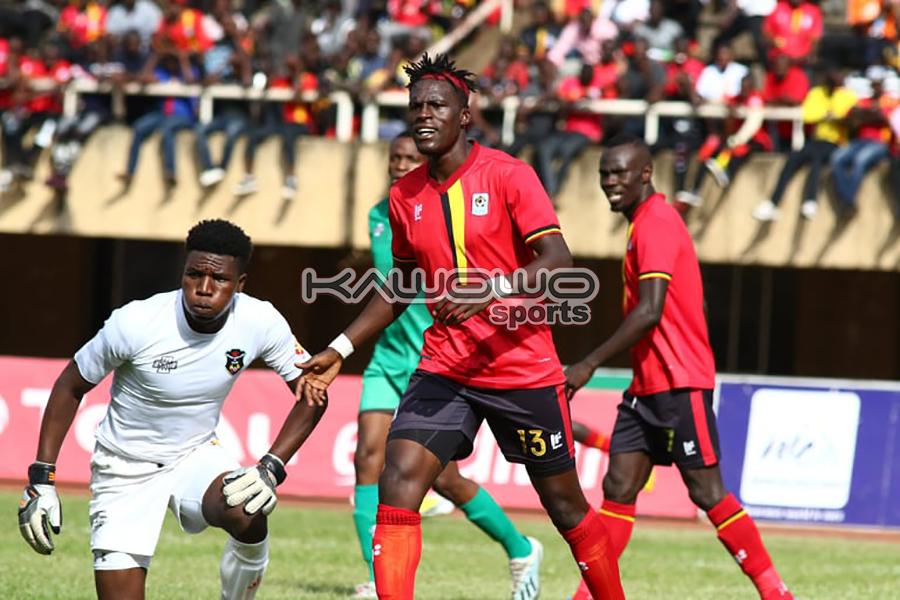 AFCON 2021 Qualifiers: Okwi, Bayo score to inspire Uganda Cranes over Malawi Flames #Uganda Fahad Bayo looks on UGAMAL Kawowo 900x600