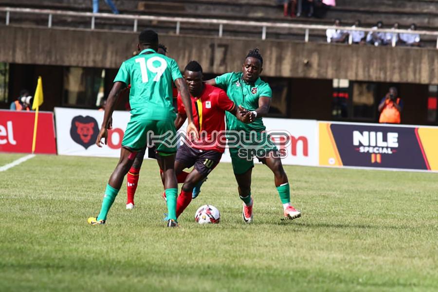 AFCON 2021 Qualifiers: Okwi, Bayo score to inspire Uganda Cranes over Malawi Flames #Uganda Kizito Luwaga UGAMAL Kawowo 900x600