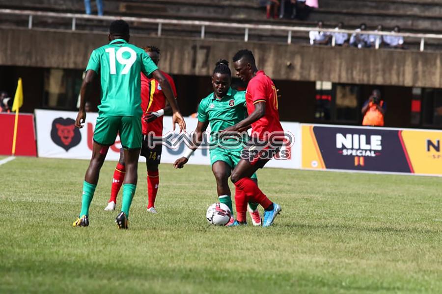 AFCON 2021 Qualifiers: Okwi, Bayo score to inspire Uganda Cranes over Malawi Flames #Uganda Luwaga and Wadada UGAMAL Kawowo 900x600