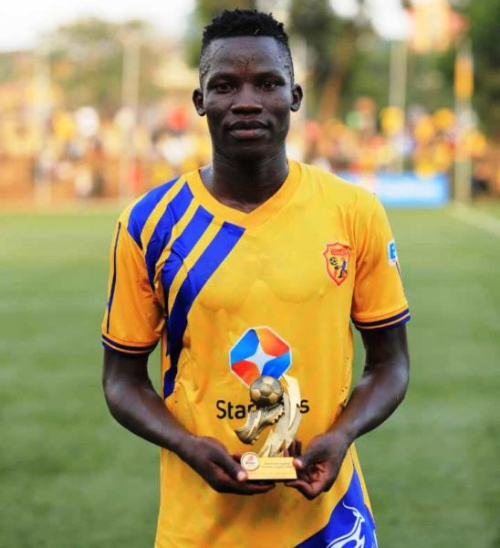 Uganda Premier League Matchday 16 Best XI #Uganda Filbert Obenchan Man of the Match 548x600