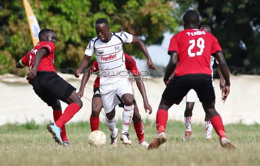 Mbarara City Vs FHL Preview: Ankole Lions host little known entity in the Uganda Cup #Uganda Brian Aheebwa dribbles 900x577
